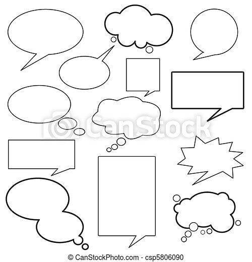 message, dialogue, balloon - csp5806090