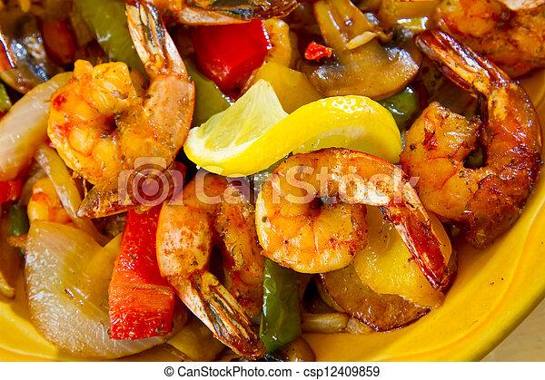 mexicain nourriture, restaurant - csp12409859