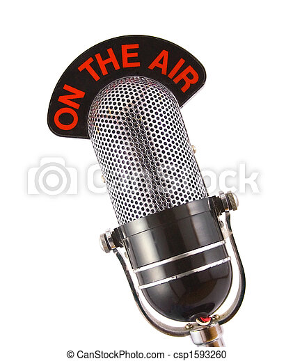 microphone, retro - csp1593260