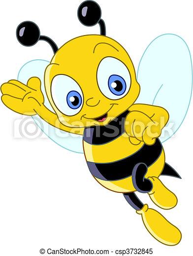 mignon, abeille - csp3732845