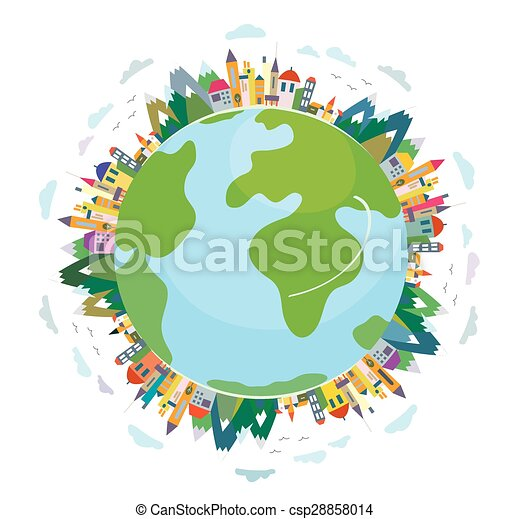 mignon, concept, voyage, global, -, conception - csp28858014