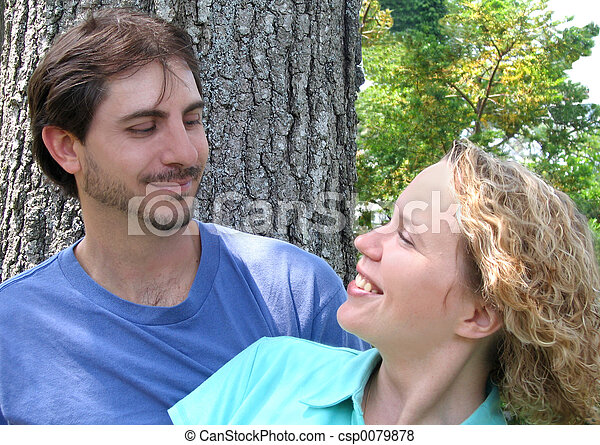 mignon, couple - csp0079878