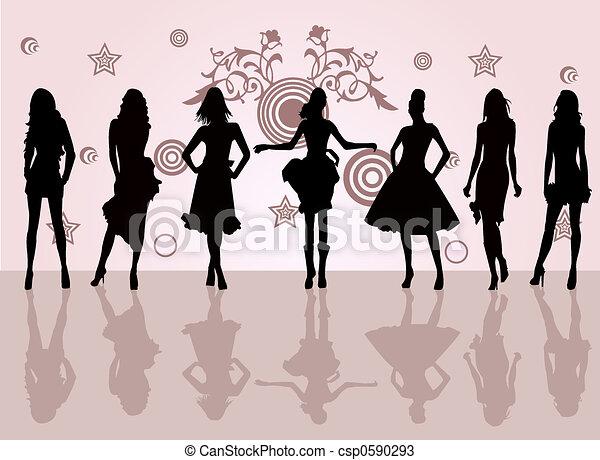 mode, filles - csp0590293