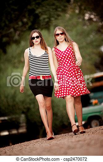 mode, filles - csp2470072