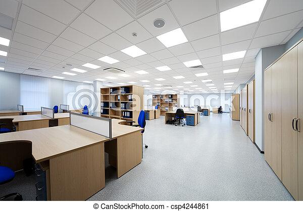 moderne, bureau - csp4244861