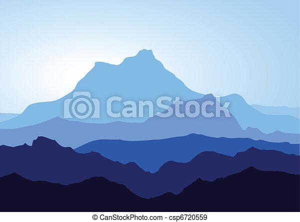 montagnes bleues - csp6720559