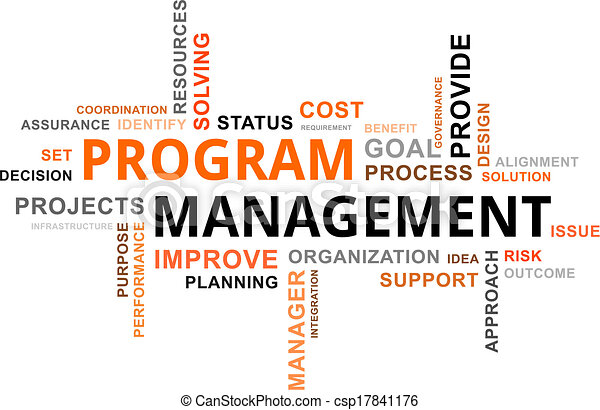 mot, programme, -, nuage, gestion - csp17841176