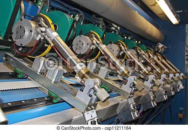moulin, papier, précision, machinerie, équipement - csp11211164