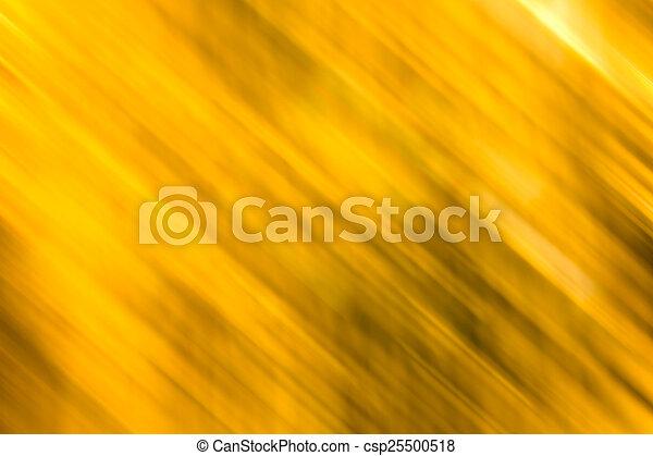 mouvement, doré, résumé, fond, barbouillage - csp25500518