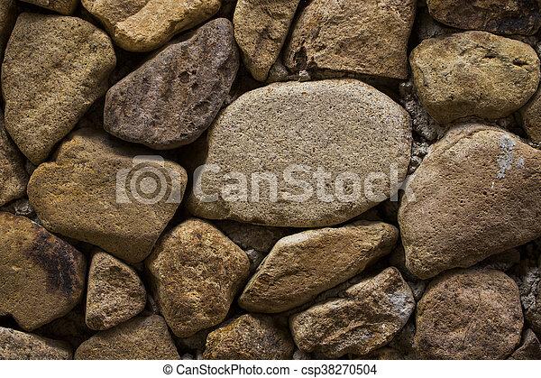 mur, texture pierre - csp38270504