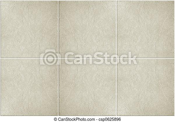 neutre, tuiles, plancher - csp0625896