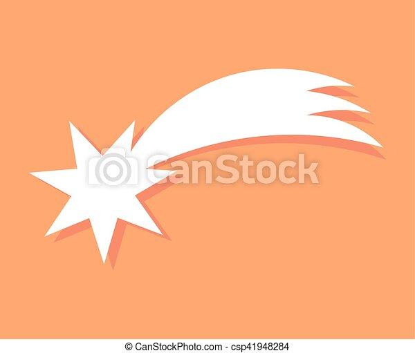 noël, bethlehem, icône, étoile - csp41948284