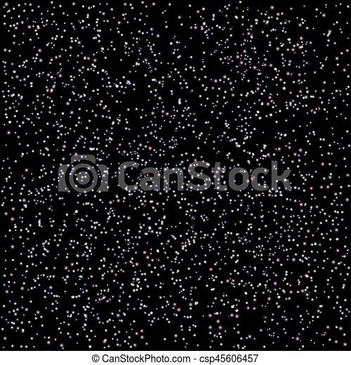 noir, étoiles, espace - csp45606457