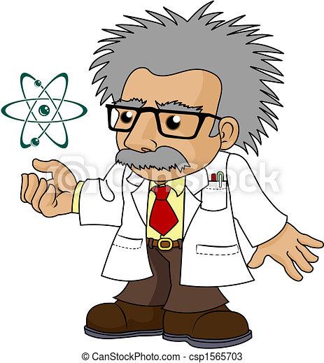 noix, illustration, science, prof - csp1565703