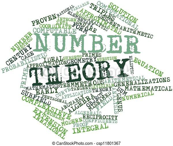 nombre, théorie - csp11801367