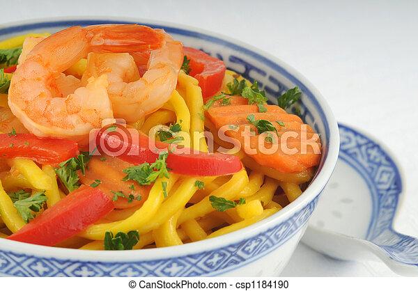 nouilles, chinois - csp1184190