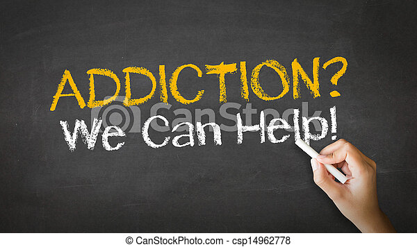 nous, aide, illustration, craie, boîte, dépendance - csp14962778