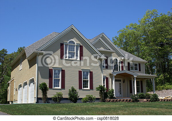 nouveau, construction., maison - csp0818028