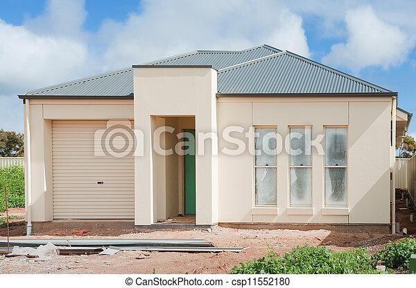 nouveau, construction, maison - csp11552180