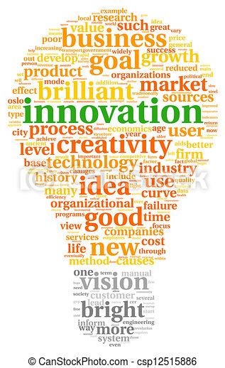 nuage, étiquette, innovation, concept, technologie - csp12515886