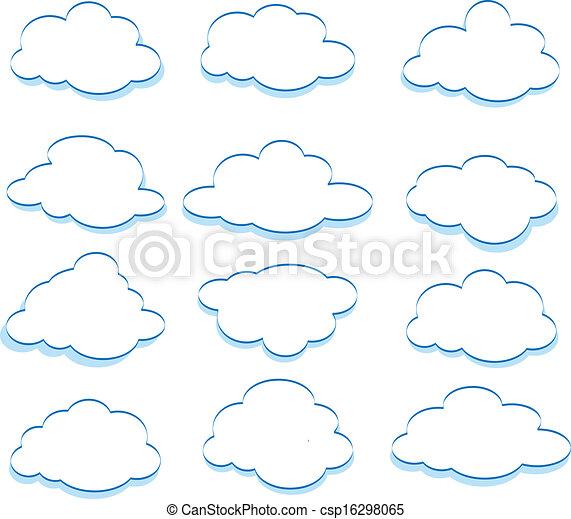 nuages - csp16298065