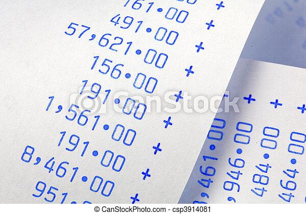 numbers., computational, poids, coûts, raies, dépenses, revenus - csp3914081