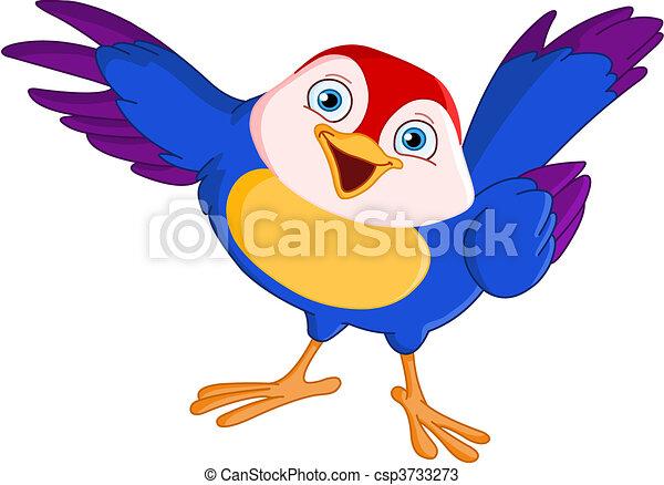 oiseau, pointage - csp3733273