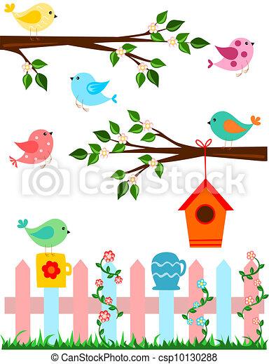 oiseaux - csp10130288