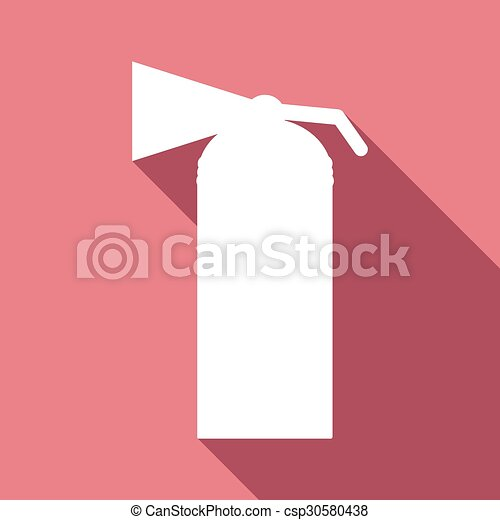ombre, feuille, long, icône - csp30580438