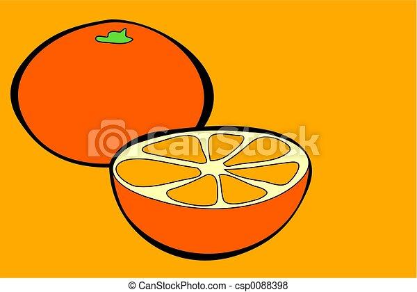 oranges - csp0088398