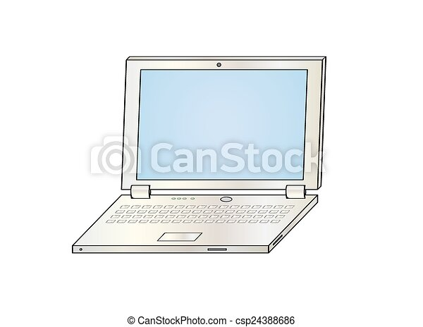 ordinateur portable - csp24388686