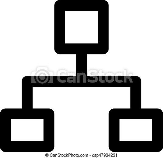 organisation, diagramme - csp47934231
