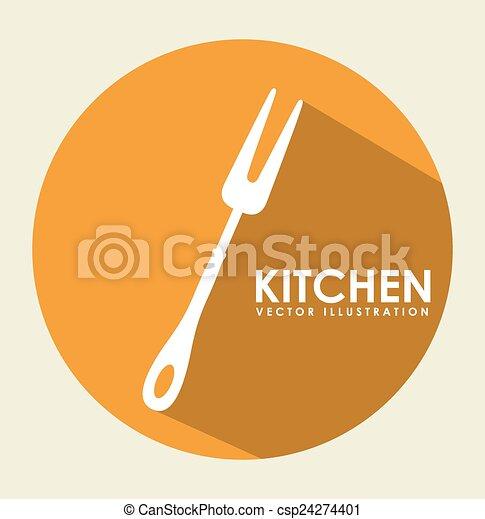 outillage, cuisine - csp24274401