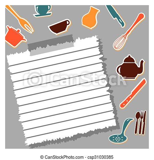 outillage, cuisine - csp31030385