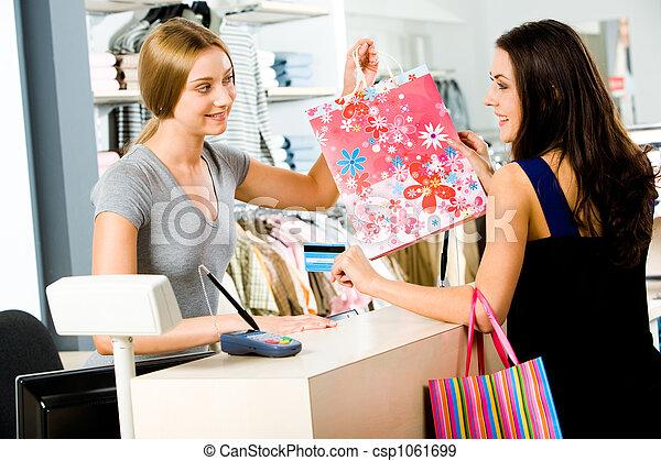 paiement, magasin - csp1061699