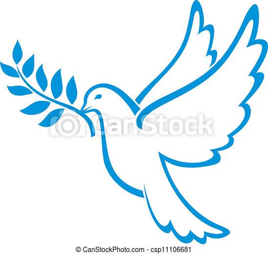 paix, colombe - csp11106681