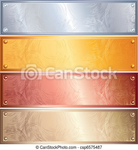 panneaux, métallique - csp6575487