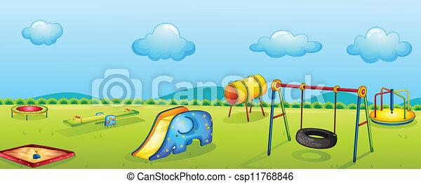 parc jeu - csp11768846