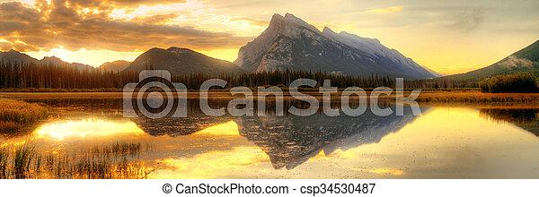 parc national, banff - csp34530487