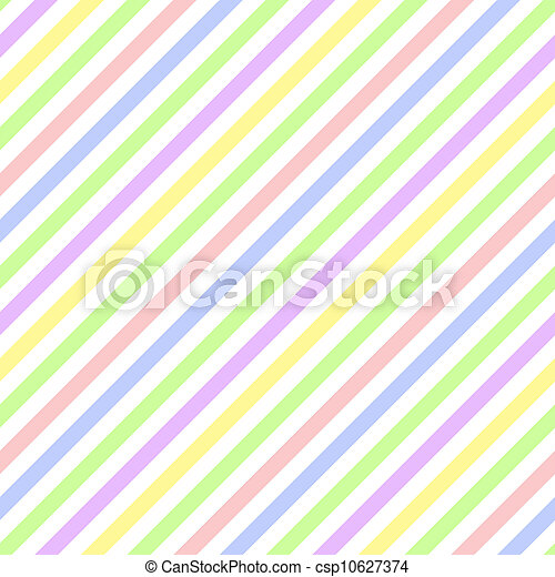 pastel, raie diagonale, seamless - csp10627374