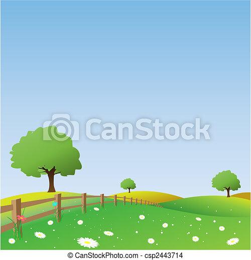 pays, paysage - csp2443714