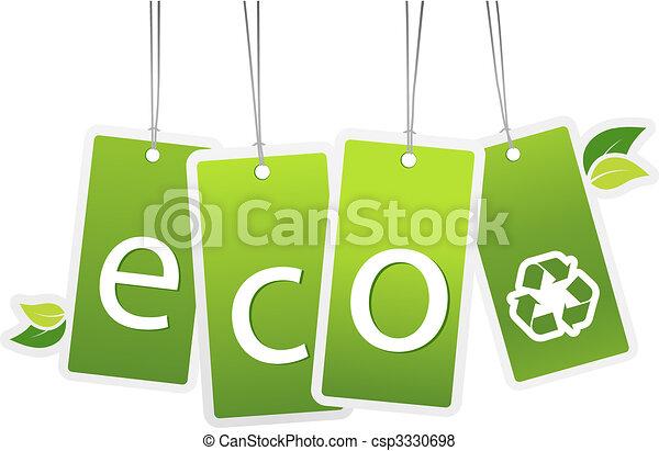 pendre, écologie, cartes. - csp3330698