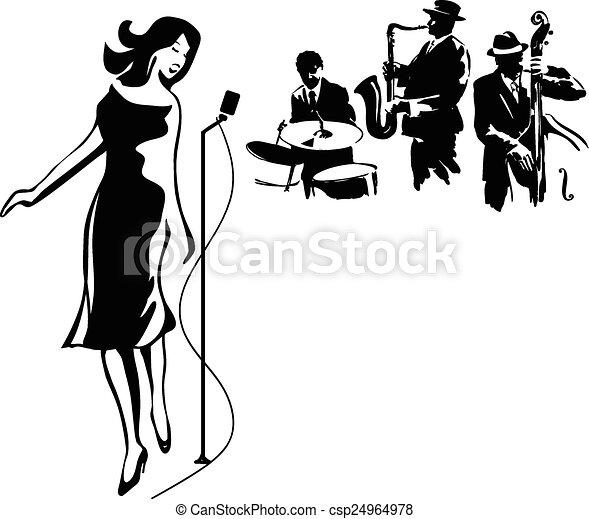 performance, jazz - csp24964978