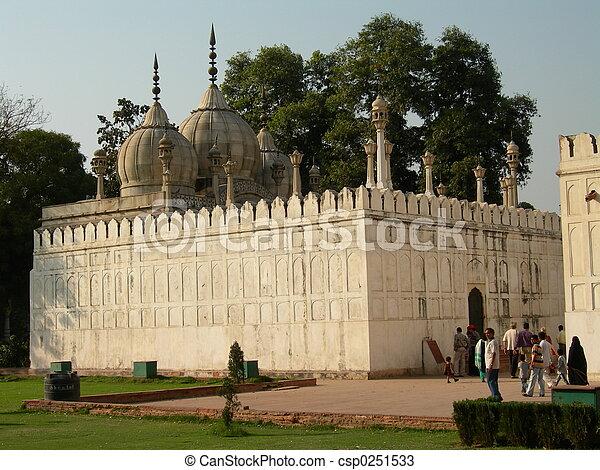 perle, mosquée - csp0251533