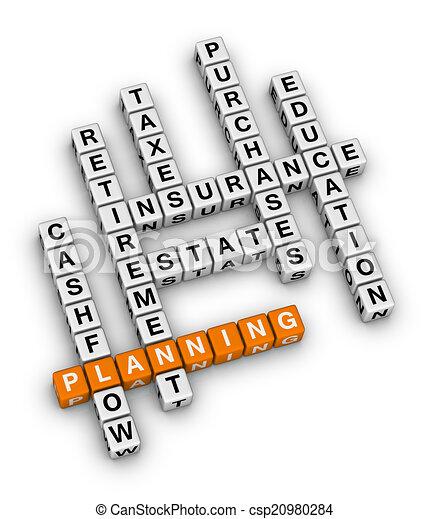 personnel, planification, financier - csp20980284