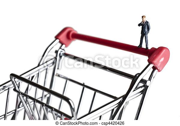 petit, achats, business, capital - csp4420426