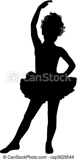 petit, ballerine - csp3629544