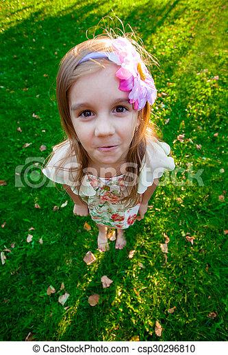 petite fille, joli - csp30296810