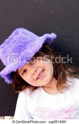 petite fille, joli - csp3514091