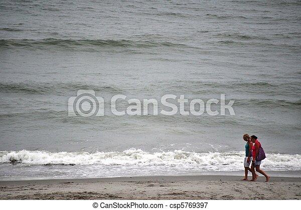 plage, femmes - csp5769397